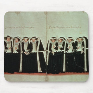 Detail of the Funeral Procession Mouse Mat