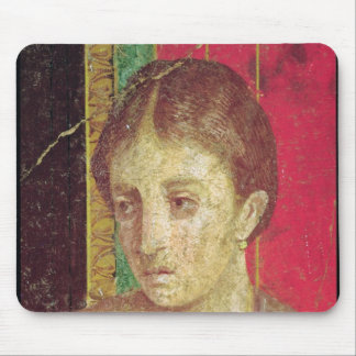 Detail of the head of the Seated Mother Mouse Pad