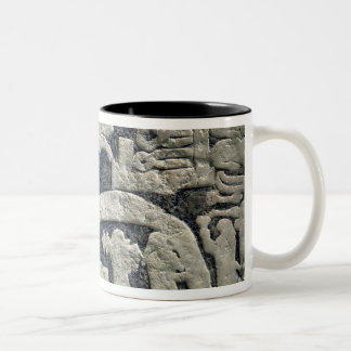 Detail of the legend of Valhalla Coffee Mugs
