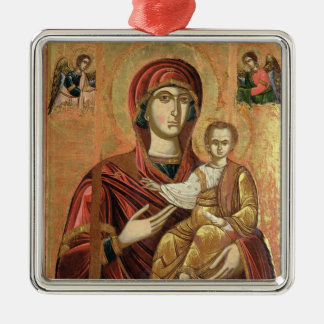 Detail of the Madonna and Child from the Iconostas Christmas Ornament