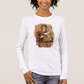 Detail of the Madonna and Child from the Iconostas Long Sleeve T-Shirt