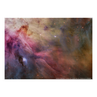 Detail of The Orion Nebula Poster