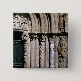 Detail of the Portico 15 Cm Square Badge