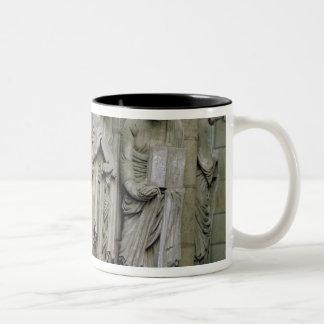 Detail of the Portico Two-Tone Coffee Mug