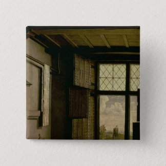Detail of the Window 15 Cm Square Badge