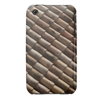 Detail of traditional tiles on a rooftop iPhone 3 Case-Mate cases