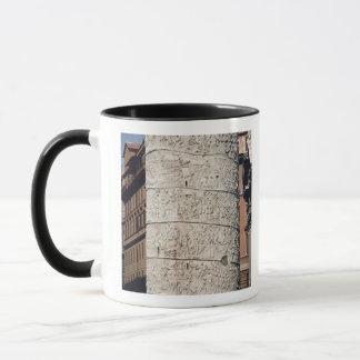 Detail of Trajan's Column Mug