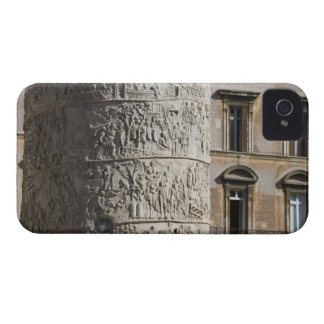 detail of Trajan's Column with buildings behind iPhone 4 Case-Mate Case