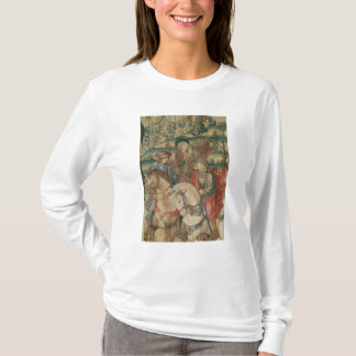 Detail of Trumpeters on horseback T-Shirt