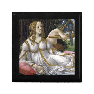 Detail of Venus, Venus and Mars by Botticelli Gift Box