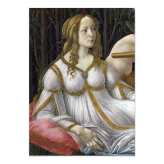 Detail of Venus, Venus and Mars by Botticelli 5x7 Paper Invitation Card