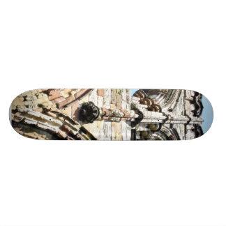 Detail Of Whitby Abbey Wall Custom Skate Board