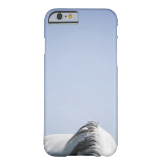 detail of white horse barely there iPhone 6 case