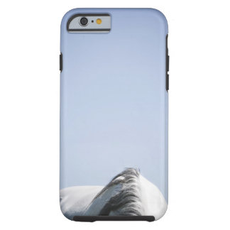 detail of white horse tough iPhone 6 case