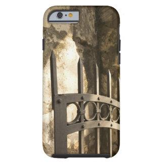 Detail of wrought iron gate in San Antonio Tough iPhone 6 Case