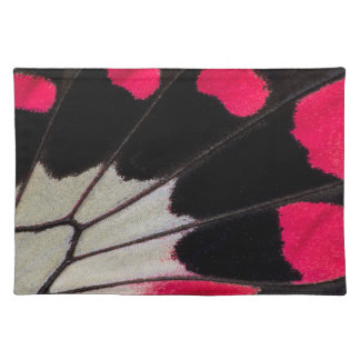 Detail Wing Pattern of Tropical Butterfly Placemat