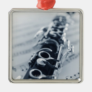 Detailed Clarinet Christmas Ornament