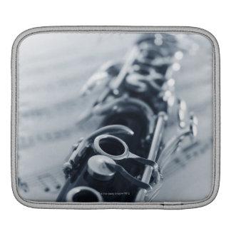 Detailed Clarinet iPad Sleeve