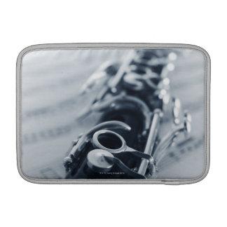 Detailed Clarinet MacBook Sleeve