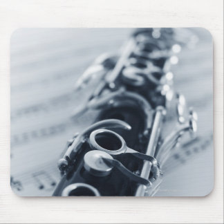 Detailed Clarinet Mouse Mat