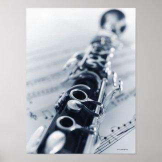 Detailed Clarinet Print