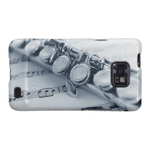 Detailed Flute Galaxy S2 Cases