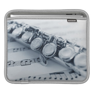 Detailed Flute iPad Sleeve