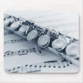 Detailed Flute Mouse Mat