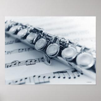 Detailed Flute Print