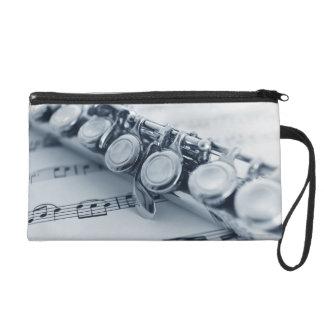 Detailed Flute Wristlet