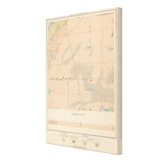 Detailed Geology Sheet IX Canvas Print