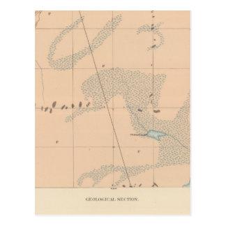 Detailed Geology Sheet IX Postcard
