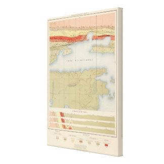 Detailed Geology Sheet V Canvas Print