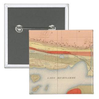 Detailed Geology Sheet VIII 15 Cm Square Badge