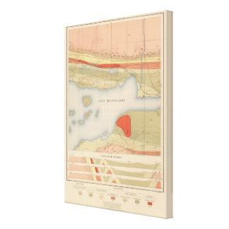 Detailed Geology Sheet VIII Canvas Print