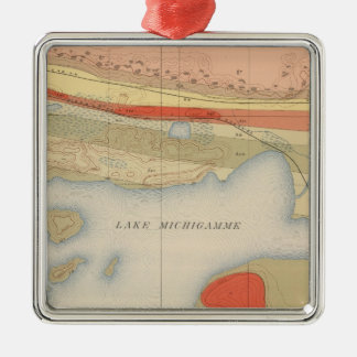 Detailed Geology Sheet VIII Christmas Ornament