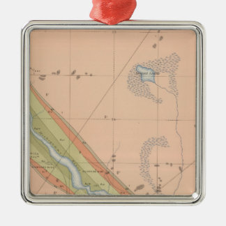 Detailed Geology Sheet X Christmas Ornament