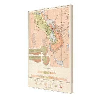 Detailed Geology Sheet XI Canvas Print