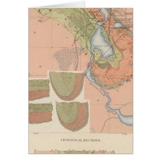 Detailed Geology Sheet XI Card