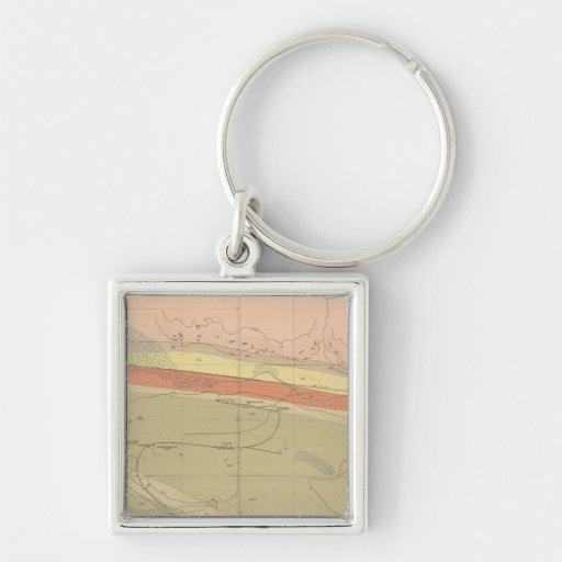 Detailed Geology Sheet XII Key Chains