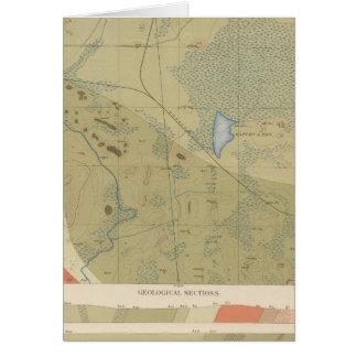 Detailed Geology Sheet XIX Card