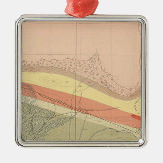 Detailed Geology Sheet XV Christmas Ornament