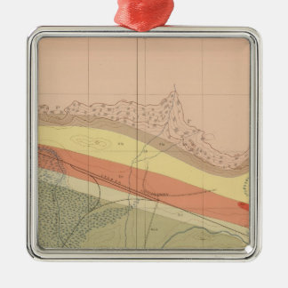 Detailed Geology Sheet XVI Christmas Ornament