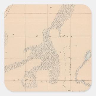 Detailed Geology Sheet XVII Square Sticker