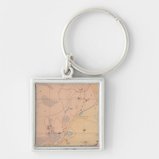 Detailed Geology Sheet XXI Keychains