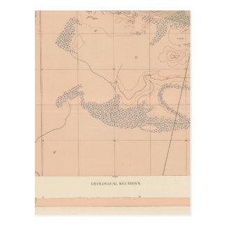 Detailed Geology Sheet XXIII Postcard