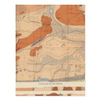 Detailed Geology Sheet XXIV Postcard