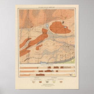 Detailed Geology Sheet XXIV Poster