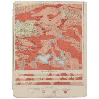 Detailed Geology Sheet XXVIII iPad Cover