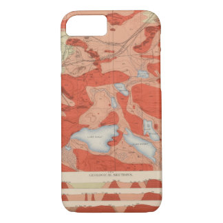 Detailed Geology Sheet XXVIII iPhone 8/7 Case